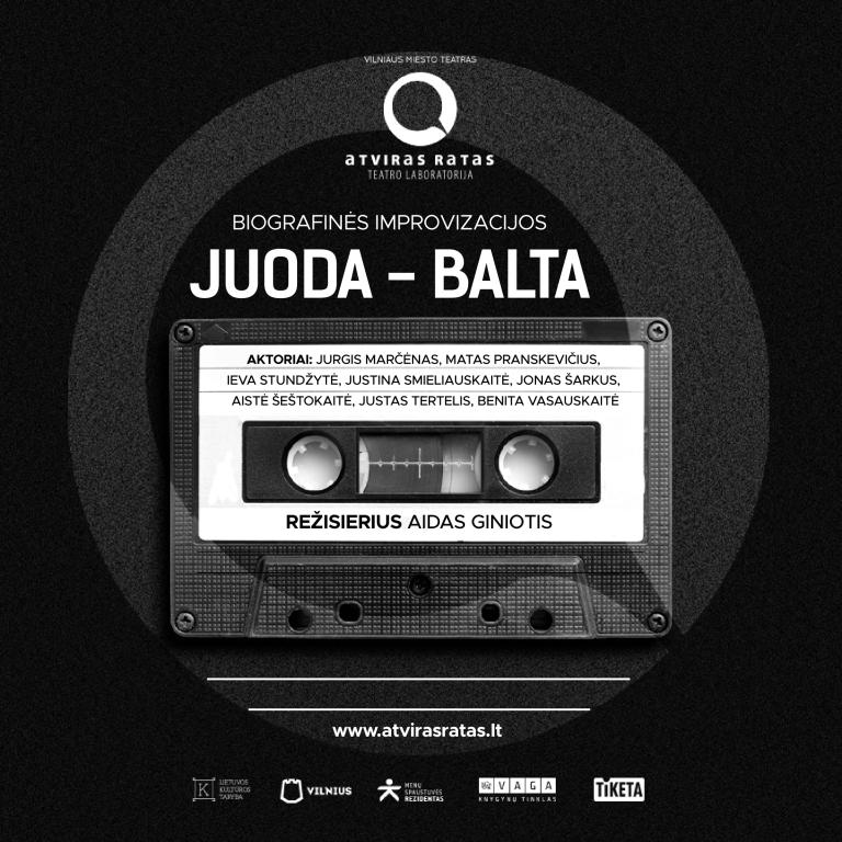 PREMJERA! JUODA-BALTA